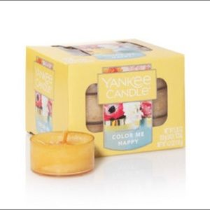 🕯 Yankee Candle Tea Lights - Color Me Happy